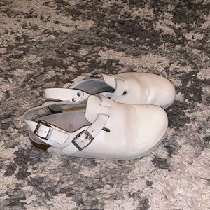 White professional Birkenstock shoes 37